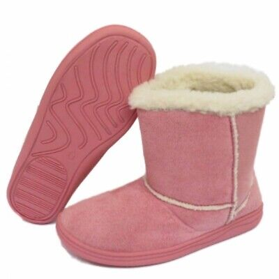 Kids Winter Fur Lined Boots  Sizes:-  10-2