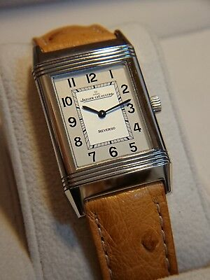 JAEGER LeCOULTRE REVERSO Classique White Dial Ladies Watch Very Good Conditions