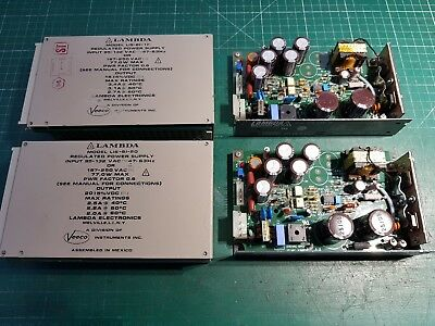 Power Supply Joblot  15v 3.A  x 3   20v 2A  x 1 Lambda Switch Mode