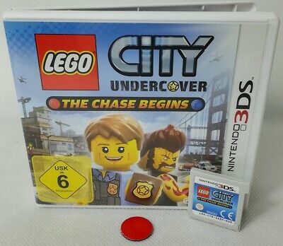 LEGO City Undercover: The Chase Begins   Nintendo DS   3DS   gebraucht in OVP