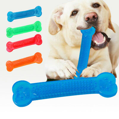 1Pc New Pet Toy Dog Cat Bone Grinding Bite Chew Health Teeth Stick Color Random
