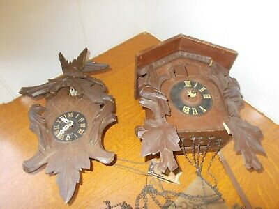 Vintage Cuckoo Clocks spares or repairs