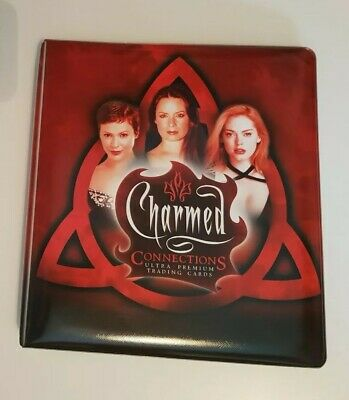 Charmed Connections Trading Card Collectors Binder (Inkworks, 2004)
