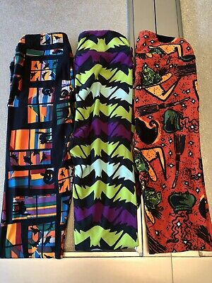 Lularoe Leggings Kid's Girls L/XL Fall Halloween Design Legging Witches and Cats