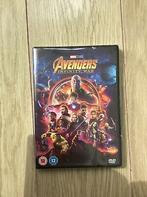 Marvel Avengers Infinity War DVD new and sealed