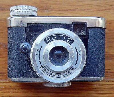 Nice Made In Western Germany Petie Miniature Camera