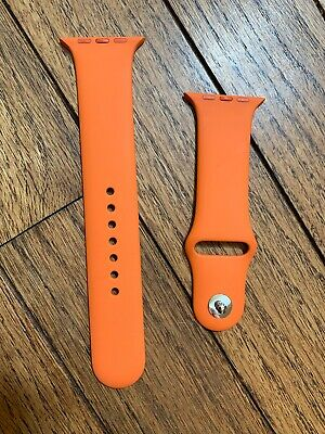 Authentic Hermes Apple Watch 4 Band Used Only A Couple Days! 44 Mm