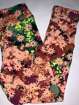 LuLaRoe Kids Leggings S//M Small Medium New Black Blue Pink Leaf Floral BoxHH