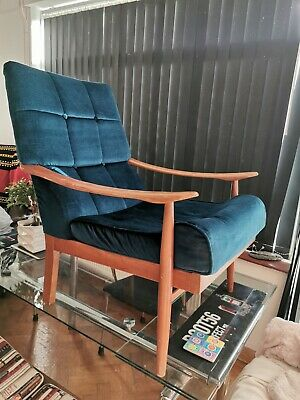 Arm Chair Vintage wooden Mid Century classic Design Bargain! reduced! from £150!