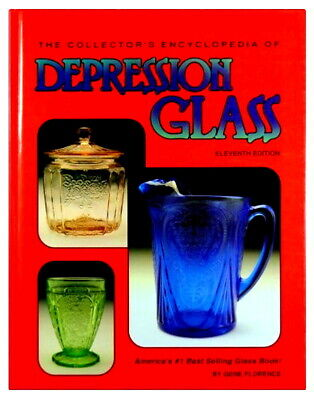 Collectors Encyclopedia of Depression Glass Gene Florence 11th Edition EXCELLENT