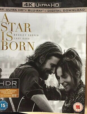 A Star Is Born ~ Blu Ray ** Disc Only And Outer Cover **