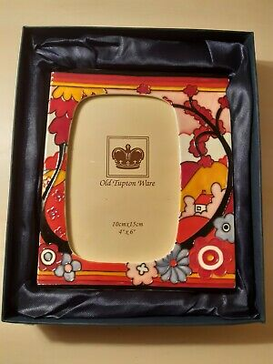 Old Tupton Ware Dawn Design by Jeanne McDougall - 4 x 6 Photo Frame