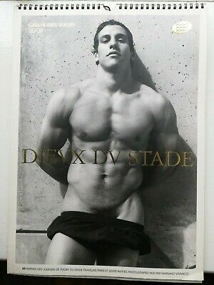 DIEUX DU STADE 2007 - French rugby calendar - male nudes / gay interest