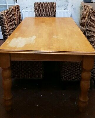 Large Solid Pine Farmhouse kitchen / dining table