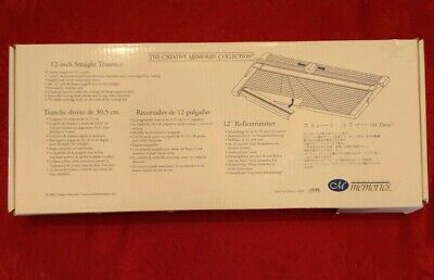 Creative Memories 12-inch Straight Trimmer NEW IN BOX! Paper Cutter Scrapbooking