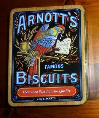 Arnott's Collectable Heritage Biscuit Tin from 2010 ~ VGC!