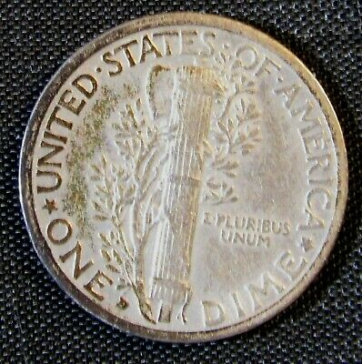 1929-D 10C Mercury Winged Liberty Head Silver Dime AN7