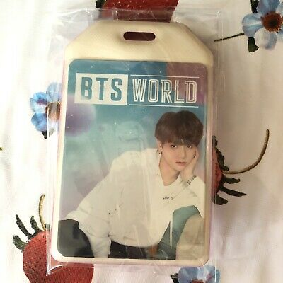 *DAMAGED* JUNGKOOK - BTS World OST Luggage Tag Pre Order Benefit Limited Edition