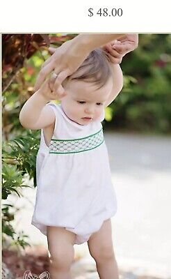 The Beaufort Bonnet Company Banbury Bubble, 3-6 Months, Boy, Girl, Smocked, Baby