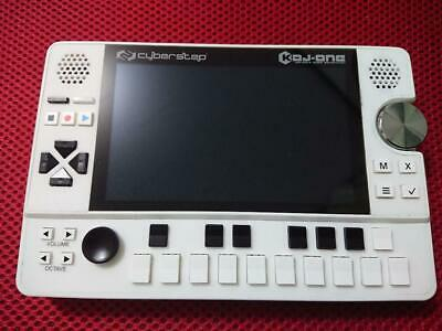 CyberStep KDJ-ONE White Portable Audio Workstation Used F/S