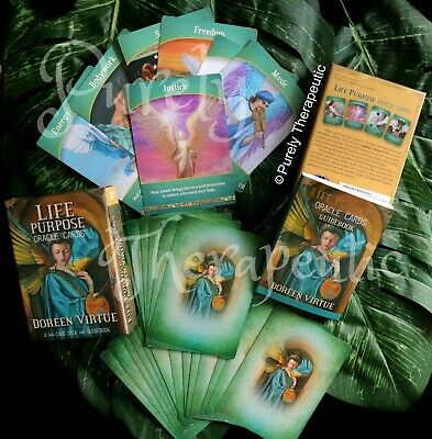 LIFE PURPOSE ORACLE CARDS BY DOREEN VIRTUE With Guidebook Boxed Sealed New Tarot