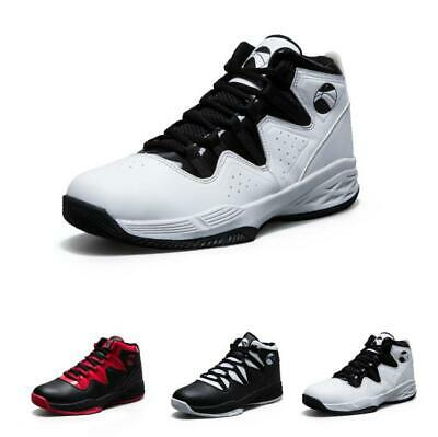 Men Fashion Sport High Top Outdoor Athletic Sneakers Basketball Shoes Breathable