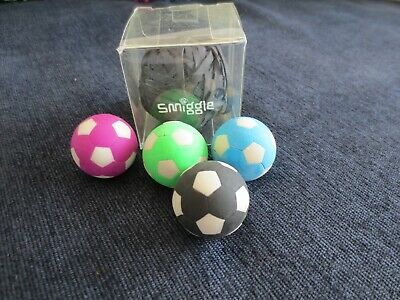 Assorted Smiggle Rubber Erasers And Rubber Band Ball