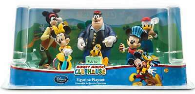 Disney Mickey Mouse Clubhouse Train Exclusive Figurine Playset PLUS FREE ITEMS