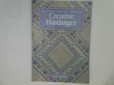 Creative Hardanger by Gina Marion embroidery patterns