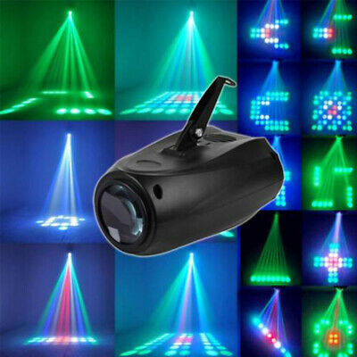 LED Party Sound Lights RGB Bulb Laser Lamp Disco Projector Stage Effect Light