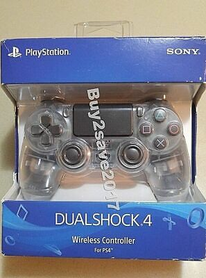 Sony PlayStation DualShock 4 Wireless Controller  PS4 Crystal Edition *BRAND NEW