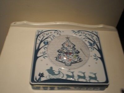 Connoisseur's Christmas Biscuit Tin
