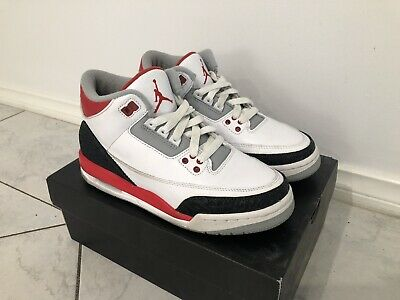 Jordan 3 Retro Fire Red 6Y