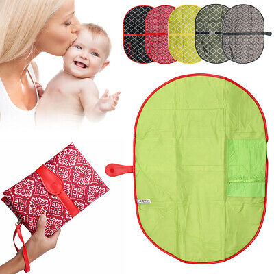 Stroller Products Baby Diaper Changing Mat Infants Nappy Pad Clutch Bag
