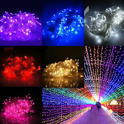 20/30/50M Waterproof LED String Fairy Lights Outdoor/Indoor Wedding Party Decor