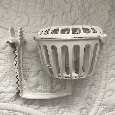 Prince Lionheart Dishwasher Basket Round Spill Proof Sippy Cup Valve Cleaner New