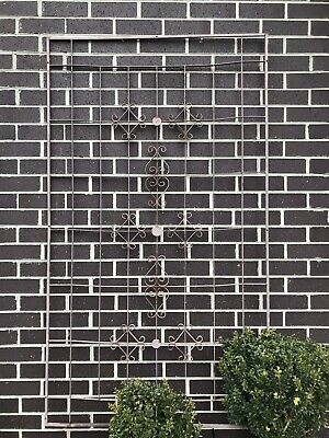Wrought Iron Window Grille / Trellis