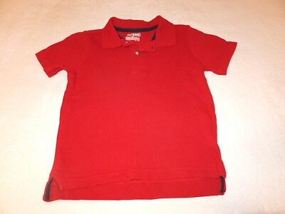 Old Navy boys red polo shirt size 3t