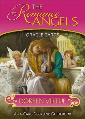 Romance Angel Oracle Card Deck manual japan Guidebook Edition Doreen Virtue used