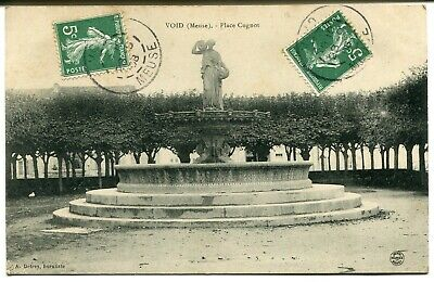 CPA - Carte Postale - France - Void - Place Cugnot - 1908 (I9693)