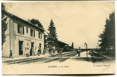 CPA - Carte Postale - France - Manois - La Gare (I9695)
