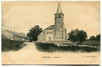 CPA - Carte Postale - France - Manois - L'Eglise (I9700)