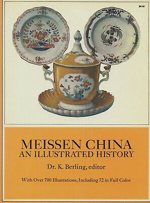 Antique German Meissen China - Types Development Marks Dates / Scarce Book