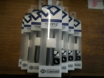 Genuine Trion Z Dual Loop Lite  Ionic Wristband Black Large By Colantotte