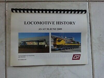 Queensland Railway Locomotive History June 2009