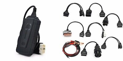 2019 Universal Multi System Scanner + Delphi 2016 software + 8 OBDII Car Cables