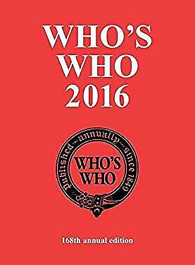 Who's Who 2016 by Bloomsbury USA Academic-ExLibrary