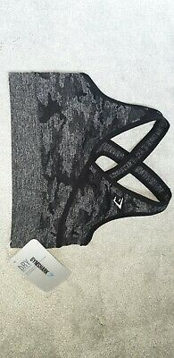 Gymshark Camo Seamless Leggings And Sports Bra Size Small