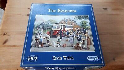 Gibsons 1000 Piece Jigsaw Puzzle  The Evacuees