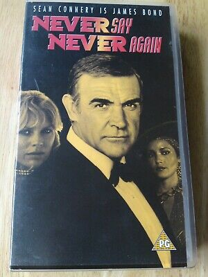 """Video James Bond """"Never Say Never Again"""" Sean Connery, watched once"""